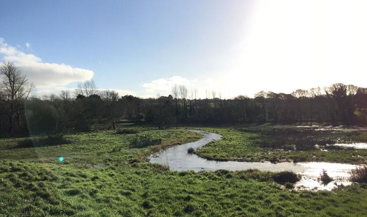 Balade de la Rivière le Goyen - crédit Bretagne Vivante