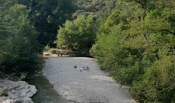Rivière du Toulourenc (crédits Ariane NS)