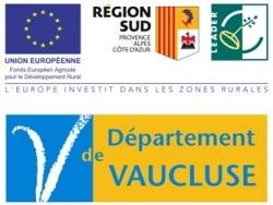 Logo la région sud et le département du Vaucluse