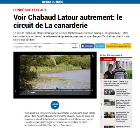 La Voix du Nord : Voir Chabaud Latour autrement