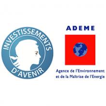 Logo de l'Agence de l'Environnement et de la Maîtrise de l'Energie, Programme d'Investissements d'Avenir