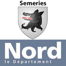 Logo département du nord et Semeries