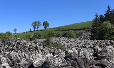 Balade de la Roche de Landeyrat (Crédit : Laura Azzolina)