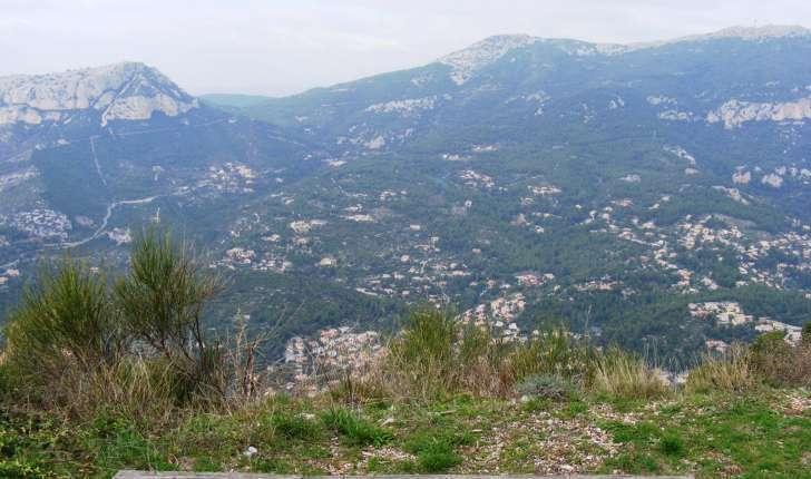 Mont Faron : vue Sud