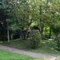 Centre ville d'Auxerre. Ici, dans les jardins du muséum naturel.